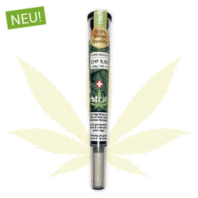 Pure CBD Joint Indoor Cannabis - Bio Qualtiät