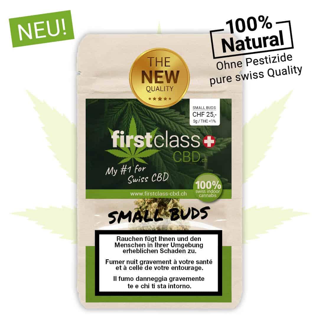 Small Buds - CBD Cannabis Blüten nach Wunsch zum besten Preis - je 5g - Pestizidfrei !