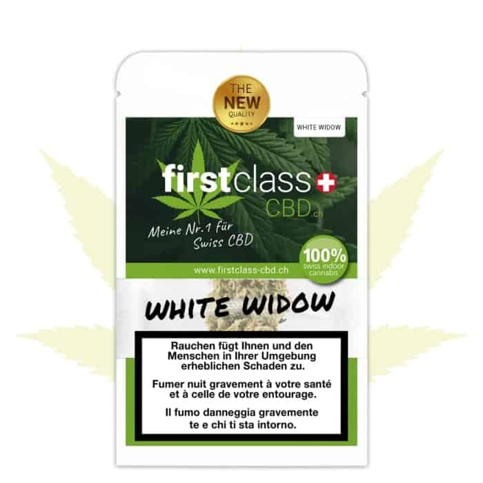 "firstclass Cannabis Indoor CBD ""WHITE WIDOW"" 2.5g"