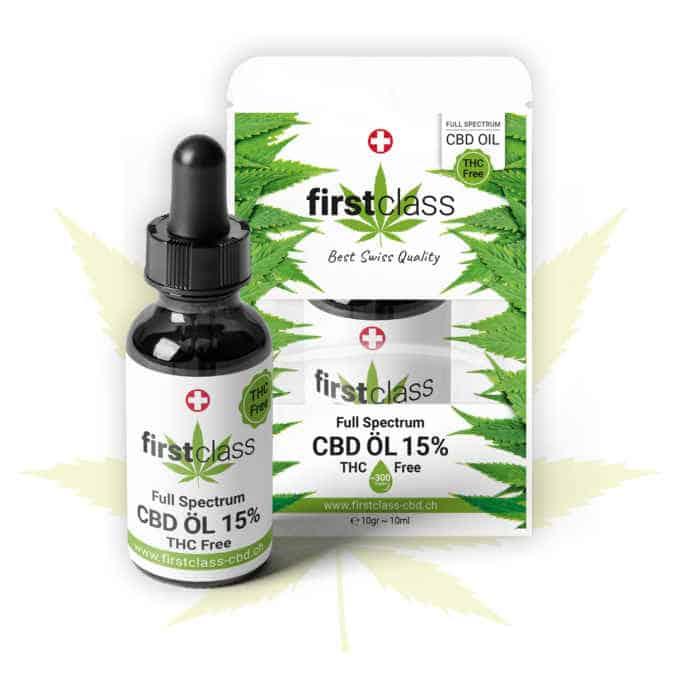 CBD Öl 15% – höchste CBD Qualität / THC FREE
