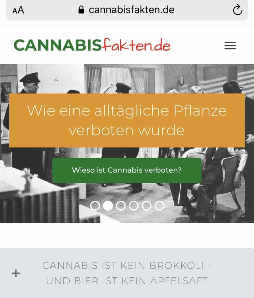 Fakten und Informationen zu Cannabis vom deutschen Hanfverband 1